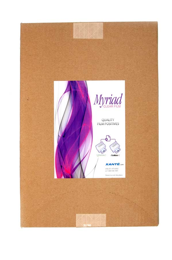 Myriad Clear Film (100 sheets)