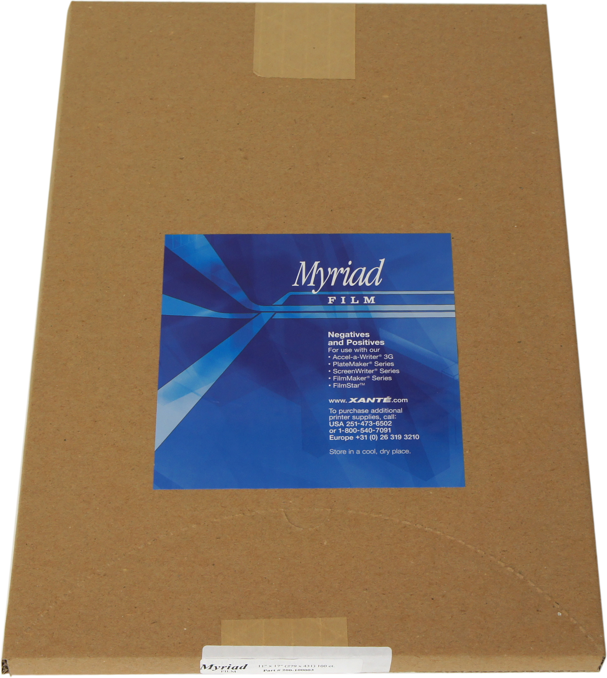 Myriad Matte Film (100 sheets)